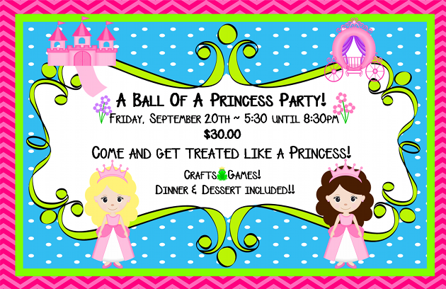 A Ball of A Princess Party at Hunter's Dance