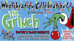 Hunter's Dance Presents the Grinch - Christmas 2014 Poster