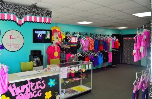 The Dancer's Point dancewear shop